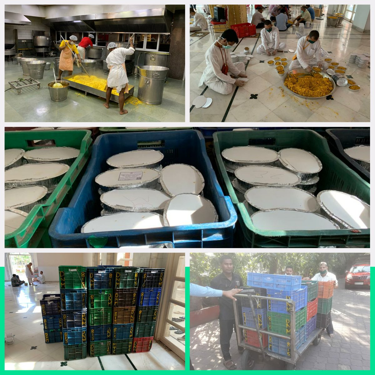 A glimpse of @RotiGharIndia's 12th day and @ISKCONJuhu in its 8th day of serving food selflessly to the needy. To both, I express my heartfelt thanks for keeping hope in humanity alive! @civildefensemah. #attitudeofgratitude  @priyankac19pic.twitter.com/Qb8lzlpT7U