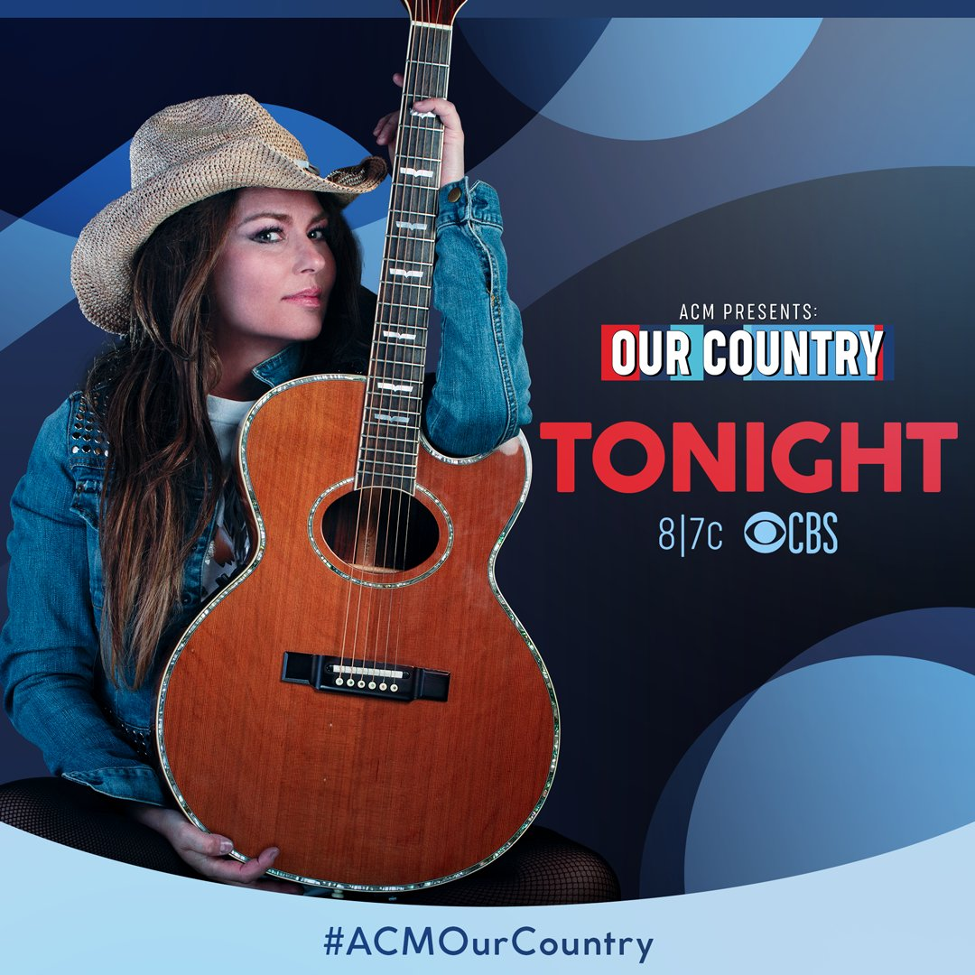 Tune into the @acmawards Presents: Our Country, TONIGHT at 8/7c on CBS. #ad