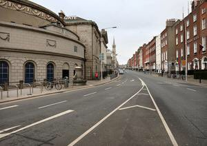 Good to hear @doccer from @WeAreTUDublin speaking sense about reducing car use in cities. With car free streets in Cabra now, I'm realizing how much noise and pollution they create normally. Time to get @BusConnects done! (Brainstorm on @RTERadio1 Sunday)