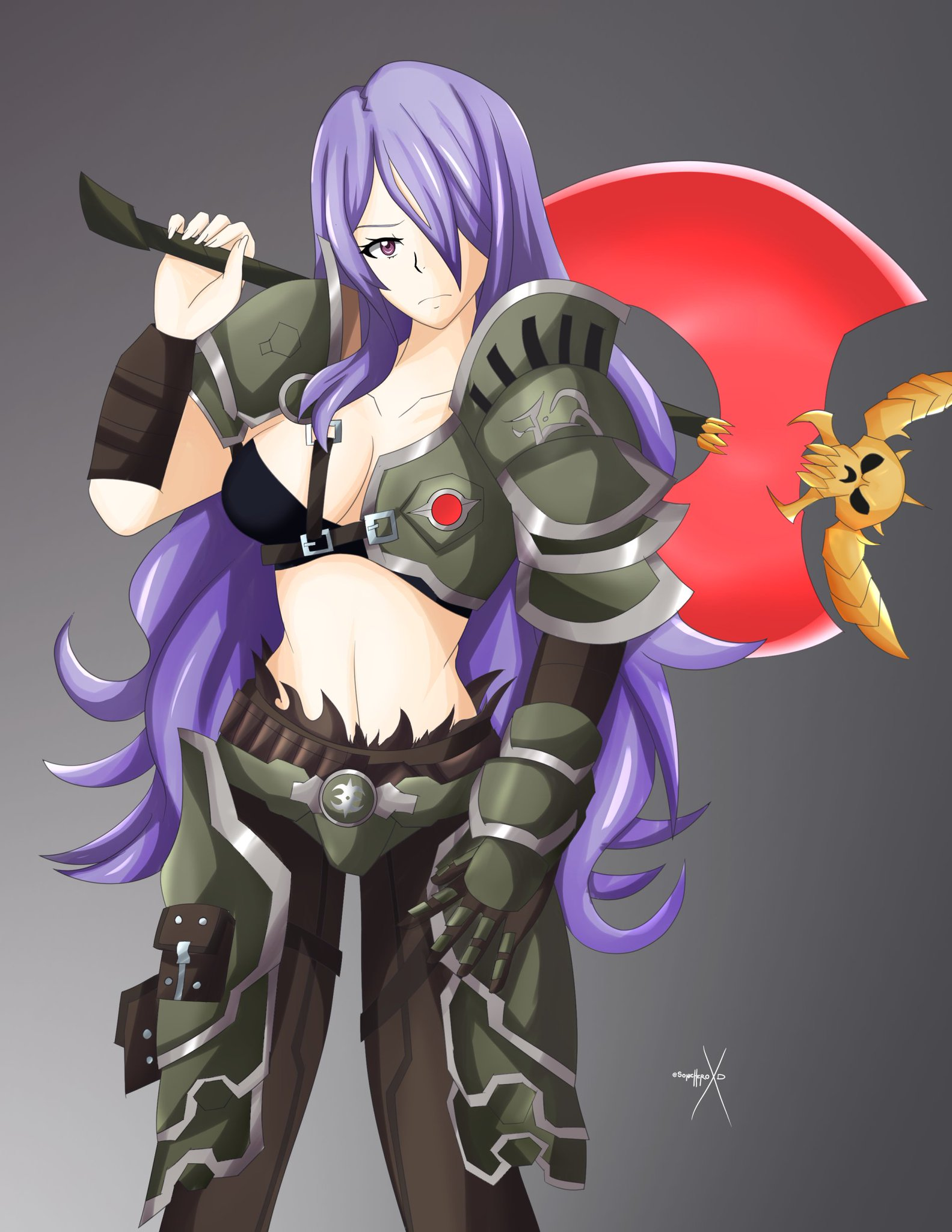 Sonicheroxd Comms Open On Twitter Marauder Camilla Fireemblemheroes Fireemblemfates Yes It S The Marauder Armor From Doom Eternal This Was Another Deviantart Commission Full Res Https T Co 648qfozbsy Https T Co Tybbbj9bhr