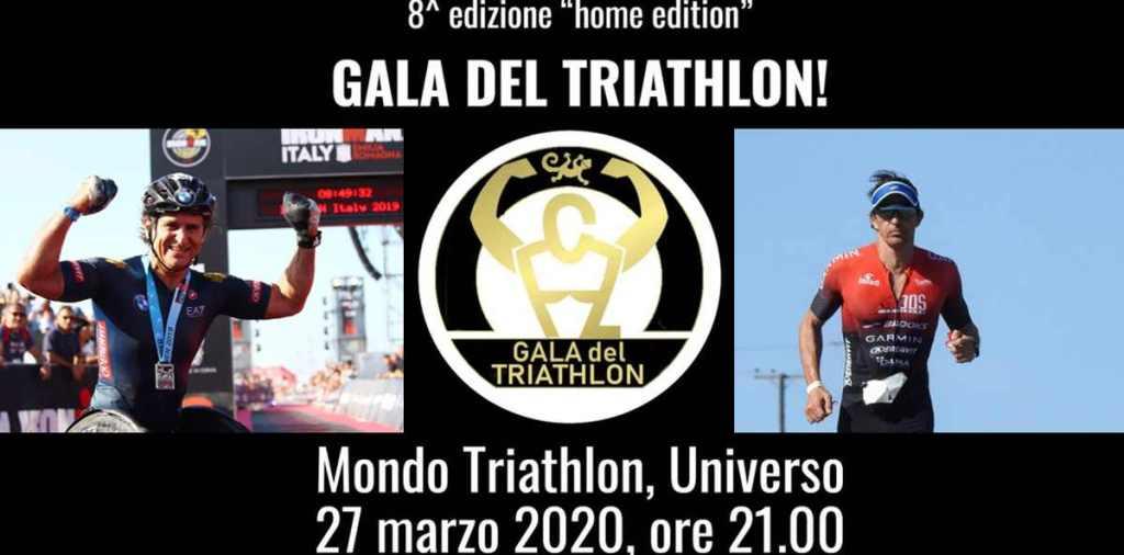 """Gala del Triathlon 2020 """"home edition"""": i video di @fontello e @lxznr #galadeltriathlon #mondotriathlon #ioTRIamo ❤️"""