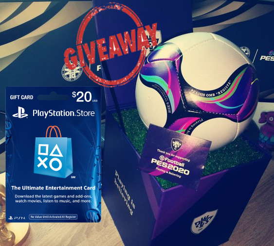 📢#GIVEAWAY  🔥 This #eFootballPES2020 Box & Ball  🔥 20 $/€/£ PSN/X1/STEAM Gift Card For the Next Agents  🔄 Retweet  👥 Follow @PesMonster & @TheeFootBALLERS  🚸 Tagg @ Friend  The Lucky Winner get announced on Monday 14.4.2020 Good Luck 🍀