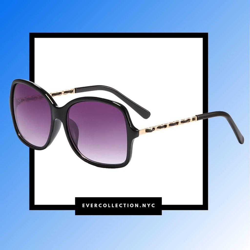 """""""A girl should be two things: classy and FABULOUS!"""" : :Our black and purple STELLAR sunglasses from our new #springcollection pic.twitter.com/EzgXBmr4u6"""