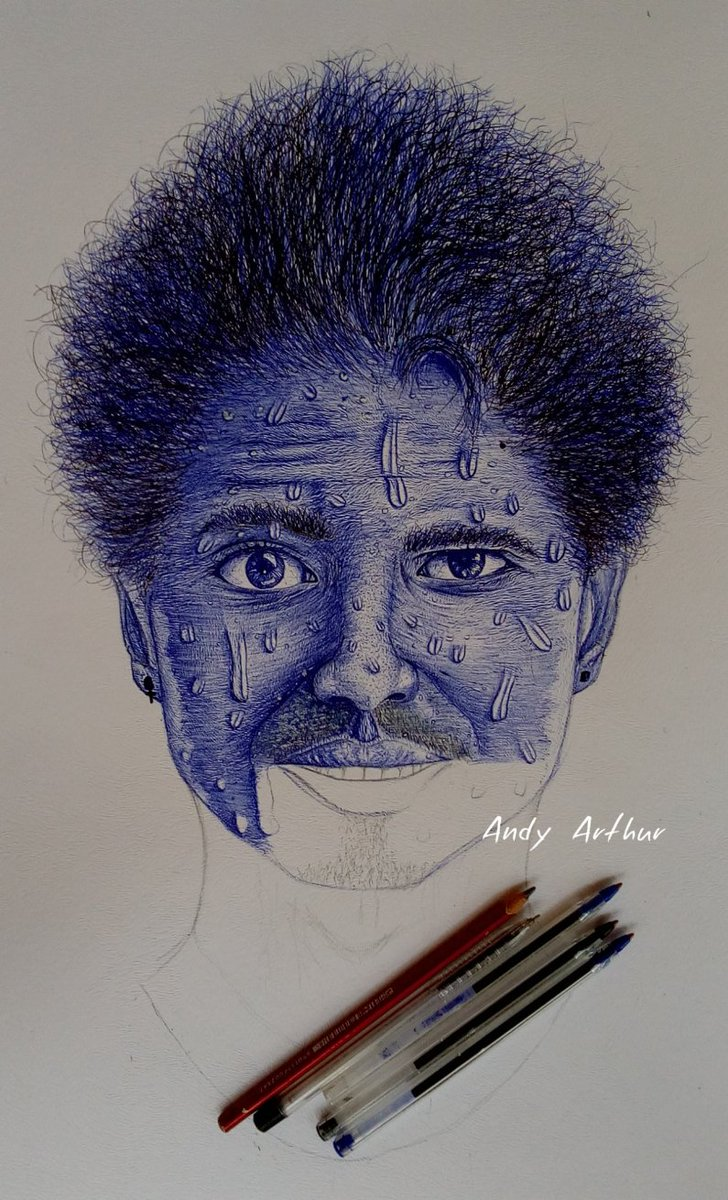 Work in progress... Slow and steady.. #ballpoint #pendrawing pic.twitter.com/HCI8nu2vx6