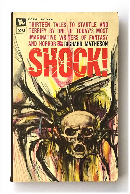 Josh did more than one Shock cover, fitting for Halloween month.  #joshkirby #richardmatheson #shock #horrorart pic.twitter.com/f0Kc7JfMTy