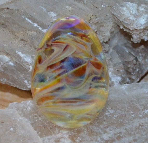 Swirled Hazy Amber Purple Egg Sculpture - Handblown https://etsy.me/2QwKH2K #vintage #collectibles @EtsyMktgTool #lens #meditation #eggpic.twitter.com/WKSAukibSB