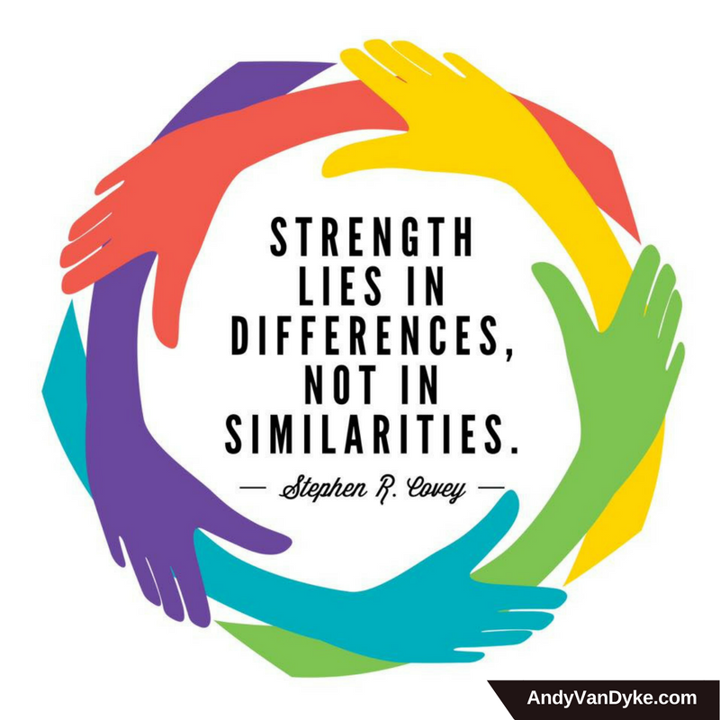 Strength lies in differences, not in similarities.  #WordsOfWisdom <br>http://pic.twitter.com/VVd5Yg4olt