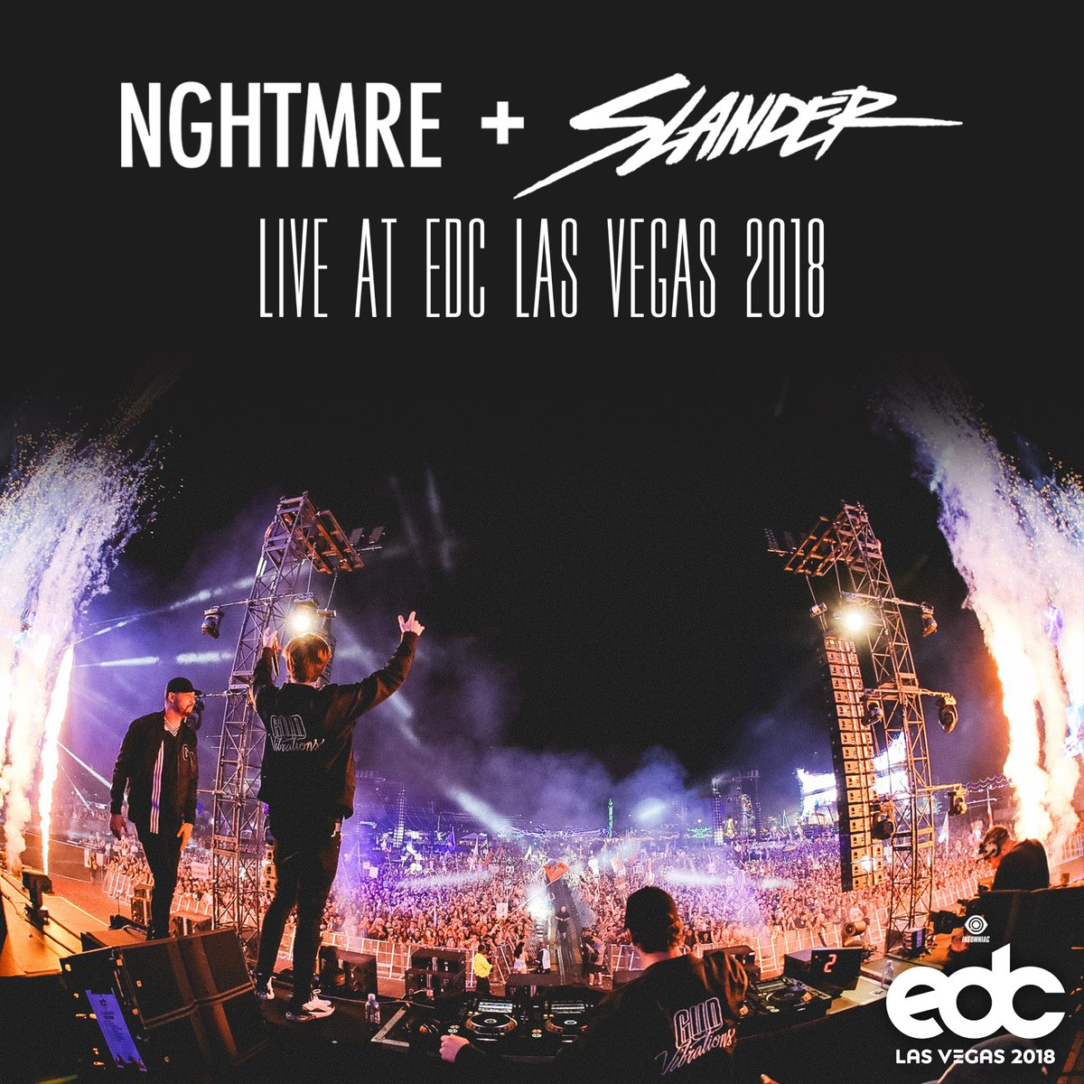 NGHTMRE B2B SLANDER LIVESTREAM BEGINS 7PM PST NEXT FRIDAY 4/10/20  Since @EDC_LasVegas was postponed we felt it was only right to bring back some of that magic for u guys so we're releasing the full festival livestream of our set w/ @NGHTMRE from EDC 2018  http://twitch.tv/slanderpic.twitter.com/60OQeeWeqj