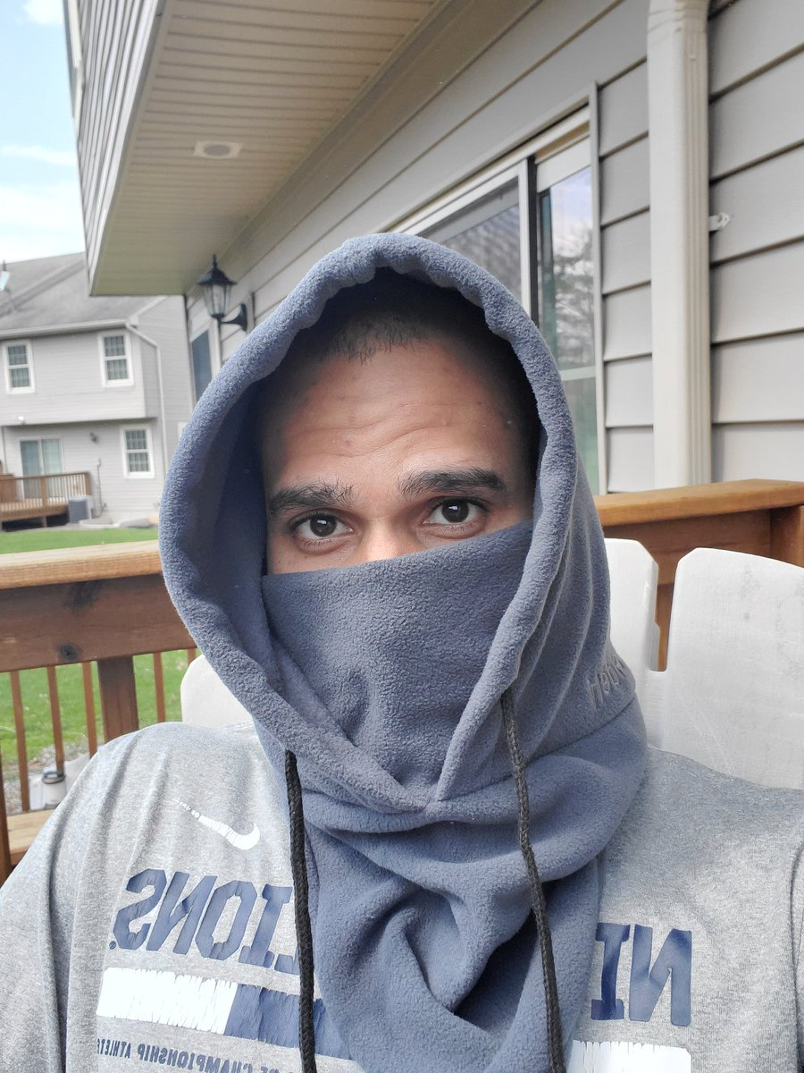 Today I am grateful for some warm weather! Just sat on my back patio doing a zoom meeting and soaking up some sun. But don't worry, I had my face covered   What are you grateful for today?  #AttitudeofGratitude #PowerofPositivitypic.twitter.com/o5YUV0OHCf