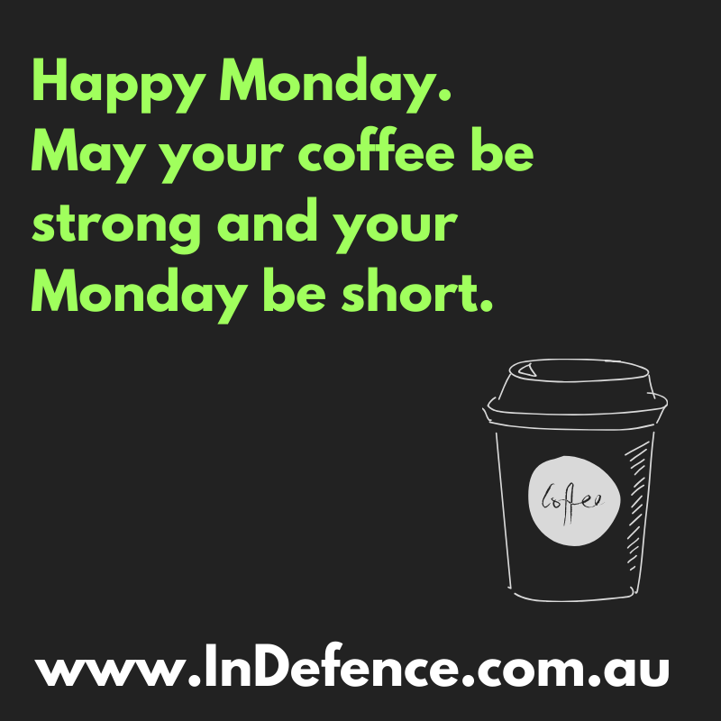 Morning!  I hope that you had a good weekend.  This week we will be setting you some Krav goals.  Details to come #indefencepss #kravmagagoldcoast #saferbydesign #selfdefence #kravmagatraining #selfdefencegoldcoast #martialartsgoldcoast #nevergiveup #kravmagapic.twitter.com/MRwAB9DiST