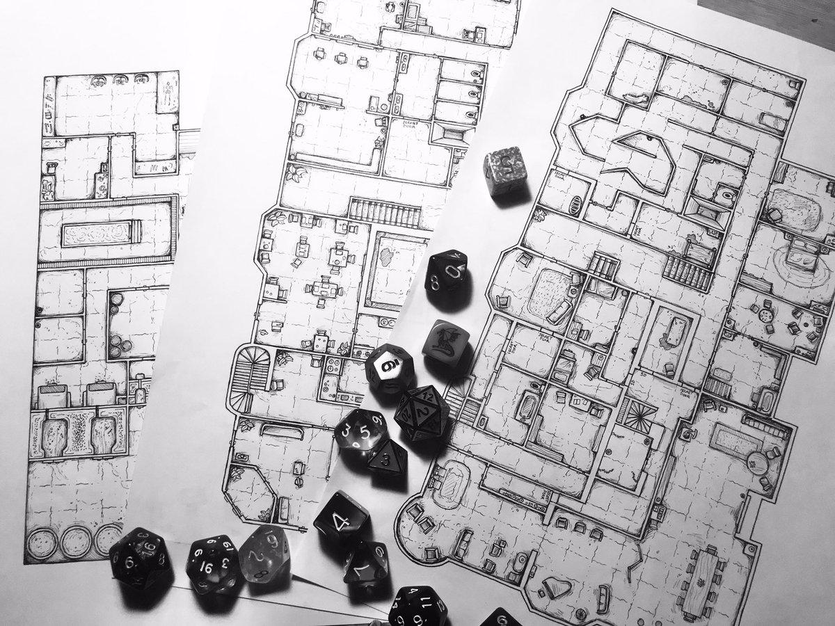 Dark Realm Maps Aka Toby On Twitter A Dnd5e Horror Setting