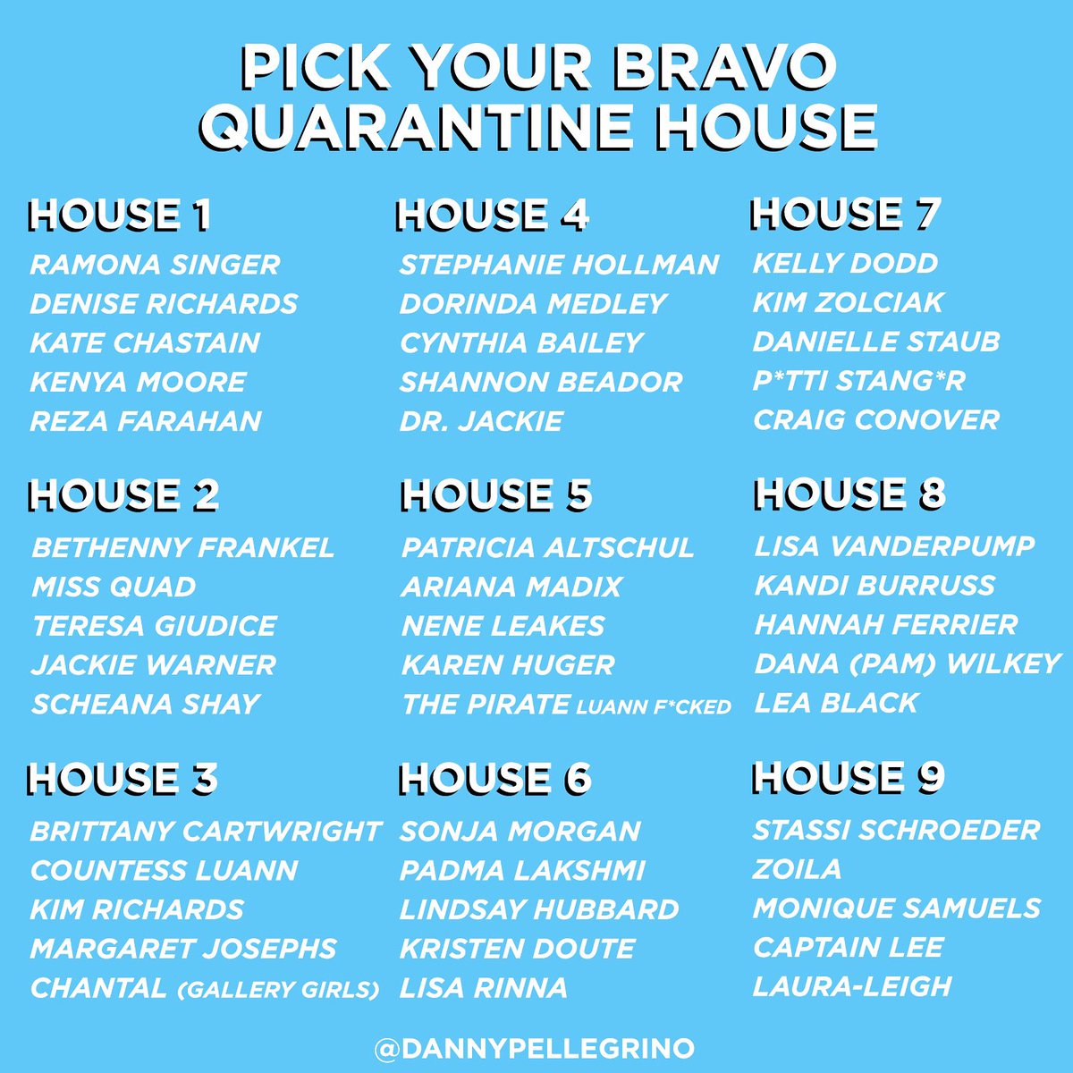 Where would you guys want to stay? I think I'd choose HOUSE #5 because I have questions for the pirate.  <br>http://pic.twitter.com/SPApjONwAb