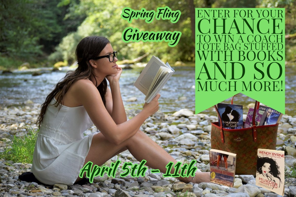 Add me and dozens of other authors to your Spring TBR pile &  all for free! Enter for your chance to win a coach tote filled with books and so much more!  #kindle #ebooks #books #amreading #romance  #readingcommunity #booklovers #freebies #romancenovels   http://www.rafflecopter.com/rafl/display/91d21a364/…?pic.twitter.com/GaVXwg2HLb