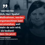 """Image for the Tweet beginning: """"Klatschen reicht Pflegekräften nicht, @jensspahn!"""