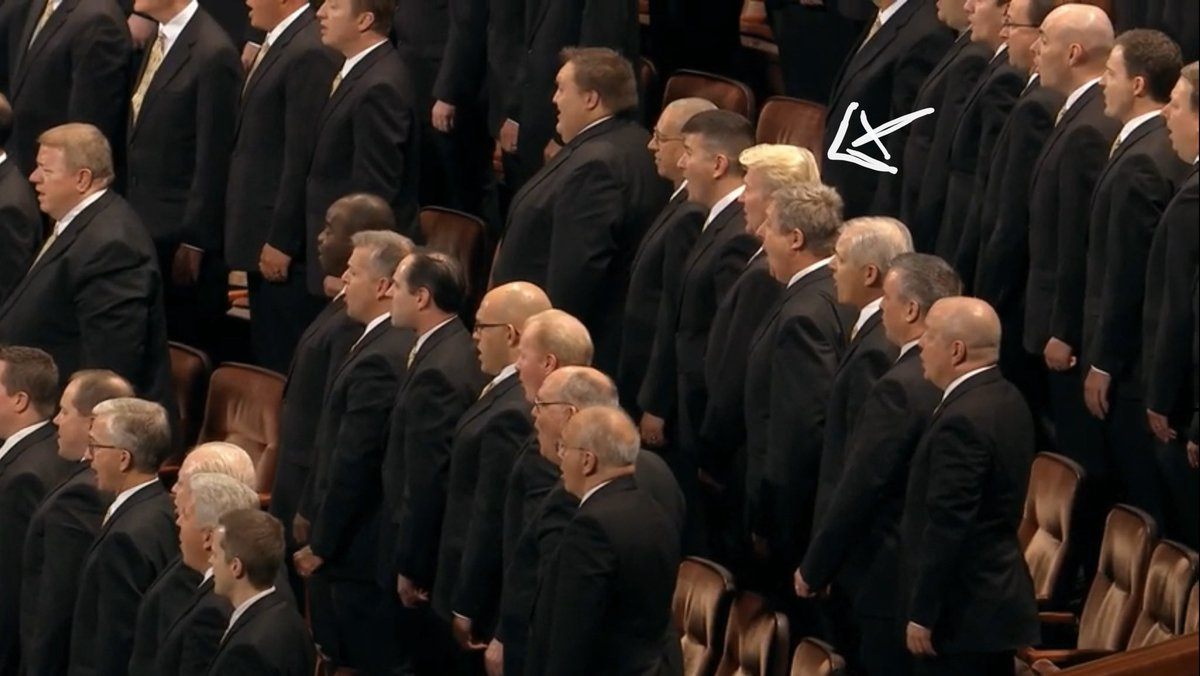 I didn't know that @realDonaldTrump joined the @TheTabChoir!! Now I'm impressed!
