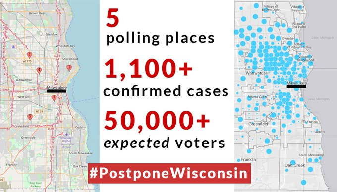 Dear Activists & Twitter Warriors,   Please join our Digital Rally to put Pressure on Governor Evers to #PostponeWisconsin People's lives are at stake. Thanks everyone for participating.<br>http://pic.twitter.com/BLPnJQab3v