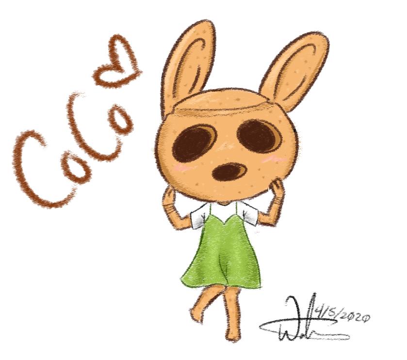 #Coco from #AnimalCrossing one of my favourite villagers~ . . #ACNH #AnimalCrossingNewHorizon #Videogame #Fanart #cute #sketch #ArtistOnTwitter #art #digitalartpic.twitter.com/1yfK6RGnxR