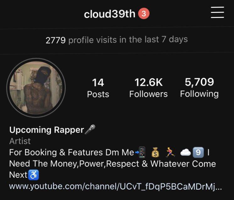 Follow Me On Instagram  #instagram #rapper pic.twitter.com/VM7zP31XPs