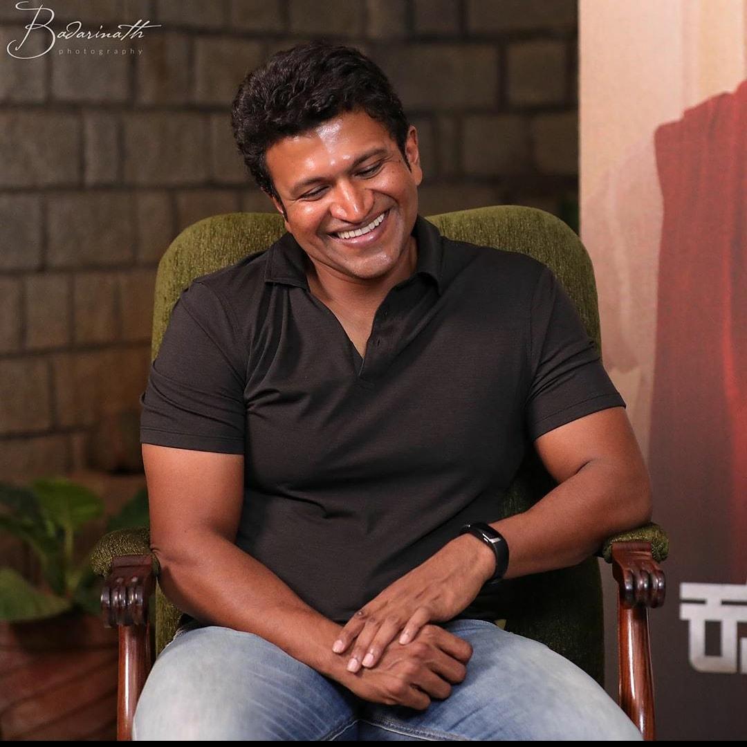 His Smile🙈❤ PC- @TheNameIsBadari  #TheRajkumars #Appu #MrPerfect #SmileKing #PowerStar #PuneethRajkumar #PowerBoysMysore