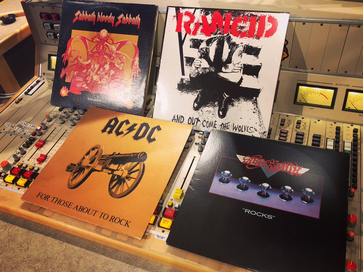 Spell your name in records  S- @BlackSabbath, Sabbath Bloody Sabbath A- @acdc, For Those About to Rock (We Salute You) R- @Rancid, ...And Out Come The Wolves A- @Aerosmith, Rockspic.twitter.com/B0EnFQsM3Z