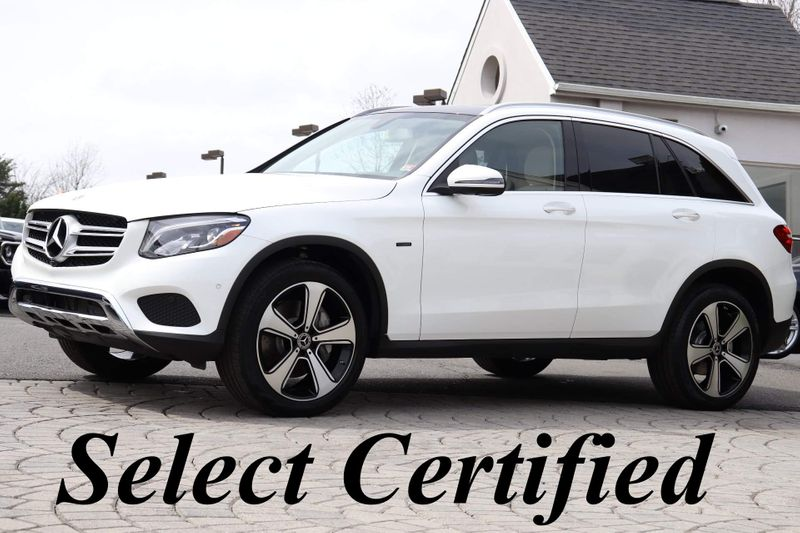 2019 Mercedes-Benz GLC-Class GLC350 e 4Matic Hybrid - $39,999. Exterior: Polar White, Interior: Tan, Transmission: Automatic, Drive Train: AWD, Mileage: 9,867. #MercedesBenz #GLC350 features: https://bit.ly/3aCJX4gpic.twitter.com/QkpRo451mW