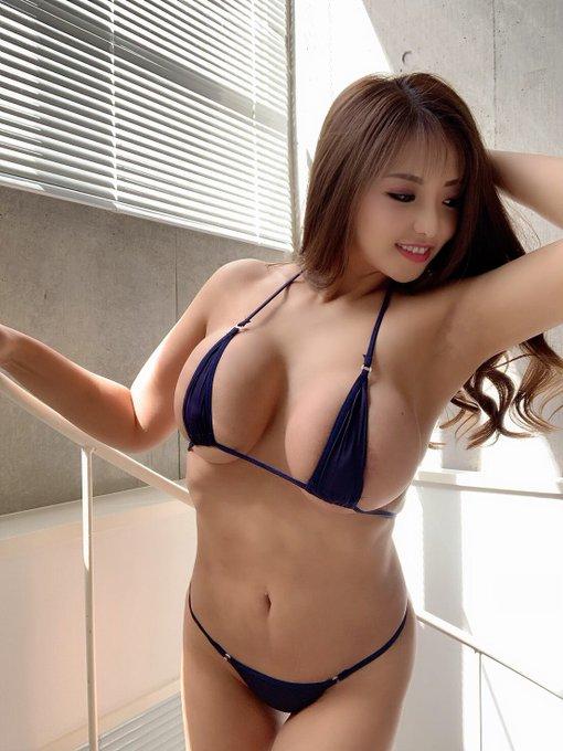 AV女優さくら悠のTwitter自撮りエロ画像45