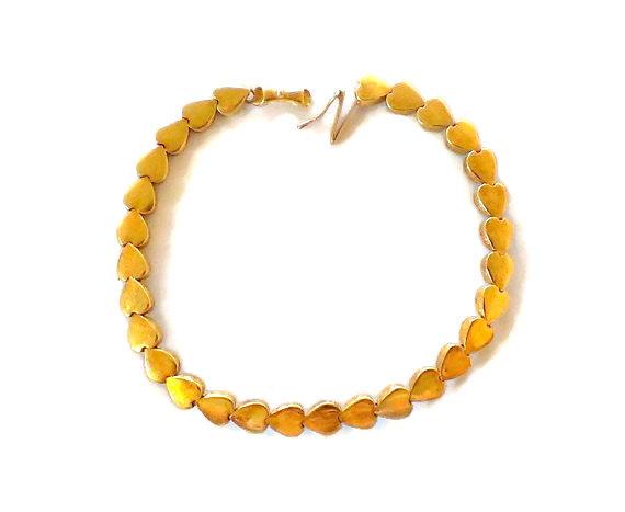Excited to share the latest addition to my #etsy shop: 14k Yellow Gold Heart Bracelet https://etsy.me/2JDPGuZ #gold #birthday #lovefriendship #no #women #interlocking #ecochicteam #heartbracelet #14kheartbraceletpic.twitter.com/E9dui7IrPs