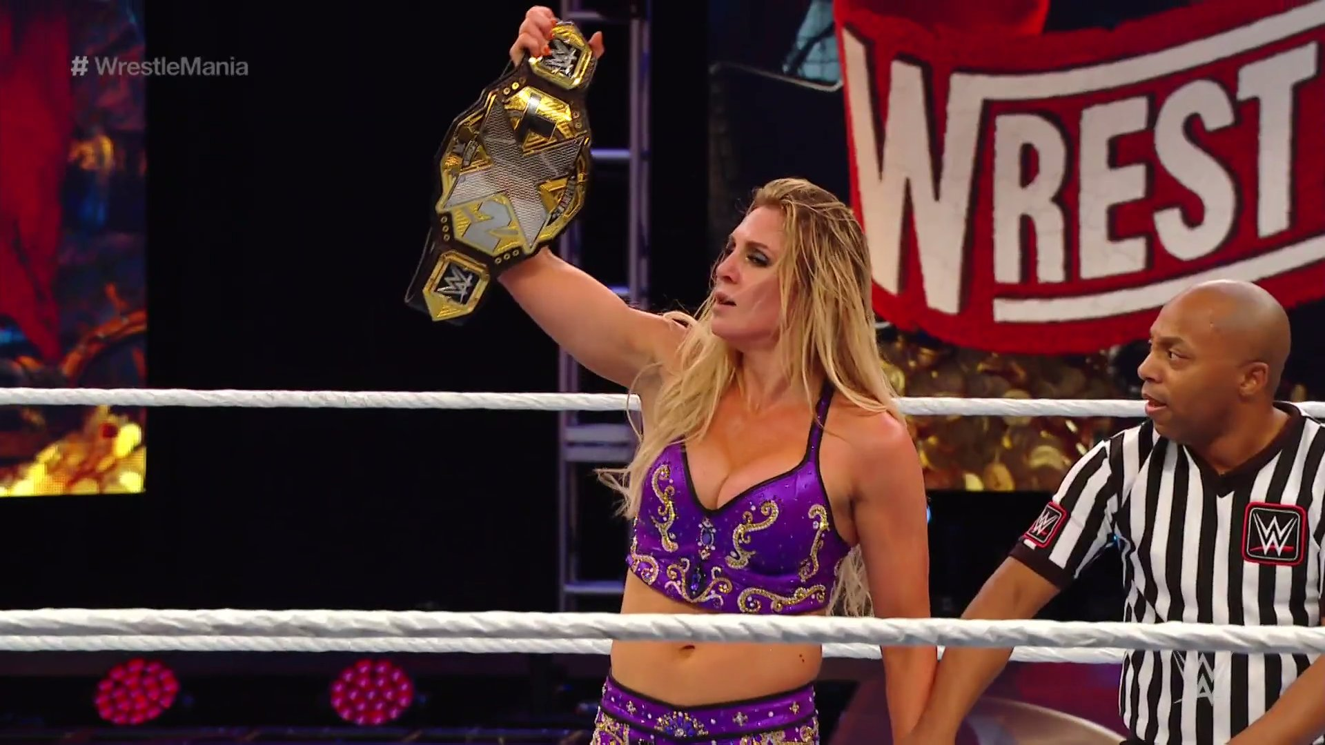 Drew McIntyre And Charlotte Flair Become New Champions At WWE Wrestlemania 2