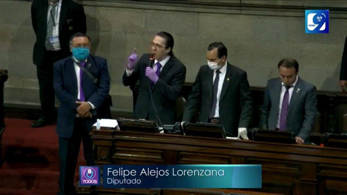 """test Twitter Media - #AHORA Felipe Alejos dice que la intención que tuvo el Congreso de recetarse Q26 millones, y que reculó por la presión social, era """"una falacia"""" https://t.co/1RgqzbSDaG"""