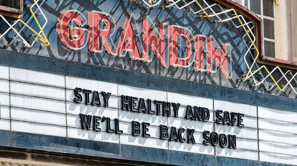 Some movie theaters have turned to streaming to make some money during the quarantine bit.ly/3bPuwpJ