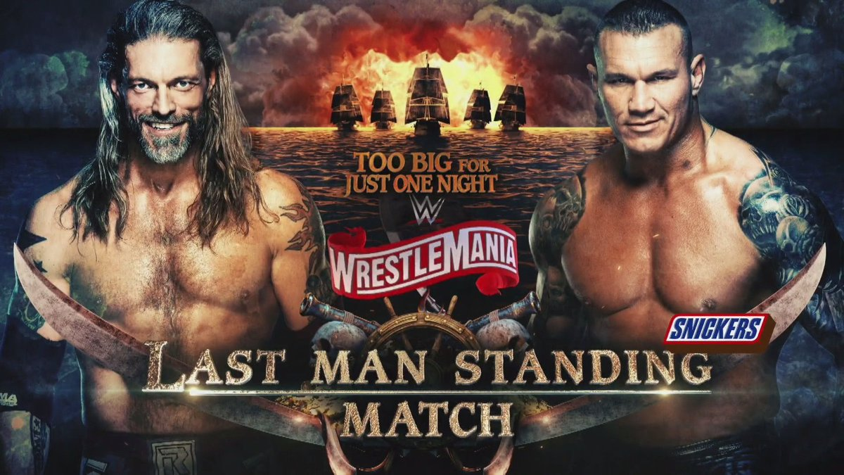 Backstage Update On Controversial Spot During Edge Vs. Randy Orton Match At WrestleMania 36