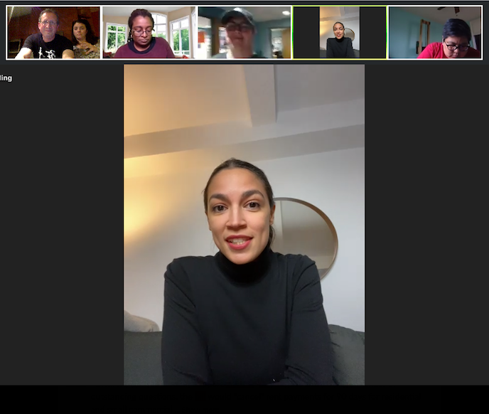 Sunday eve @LocalProgress calls w/progressive local elected officials across the country working to center equity in COVID response were already one of the bright spots of this dark time.  Thanks @AOC for joining tonight's call on housing justice & helping light the way forward.