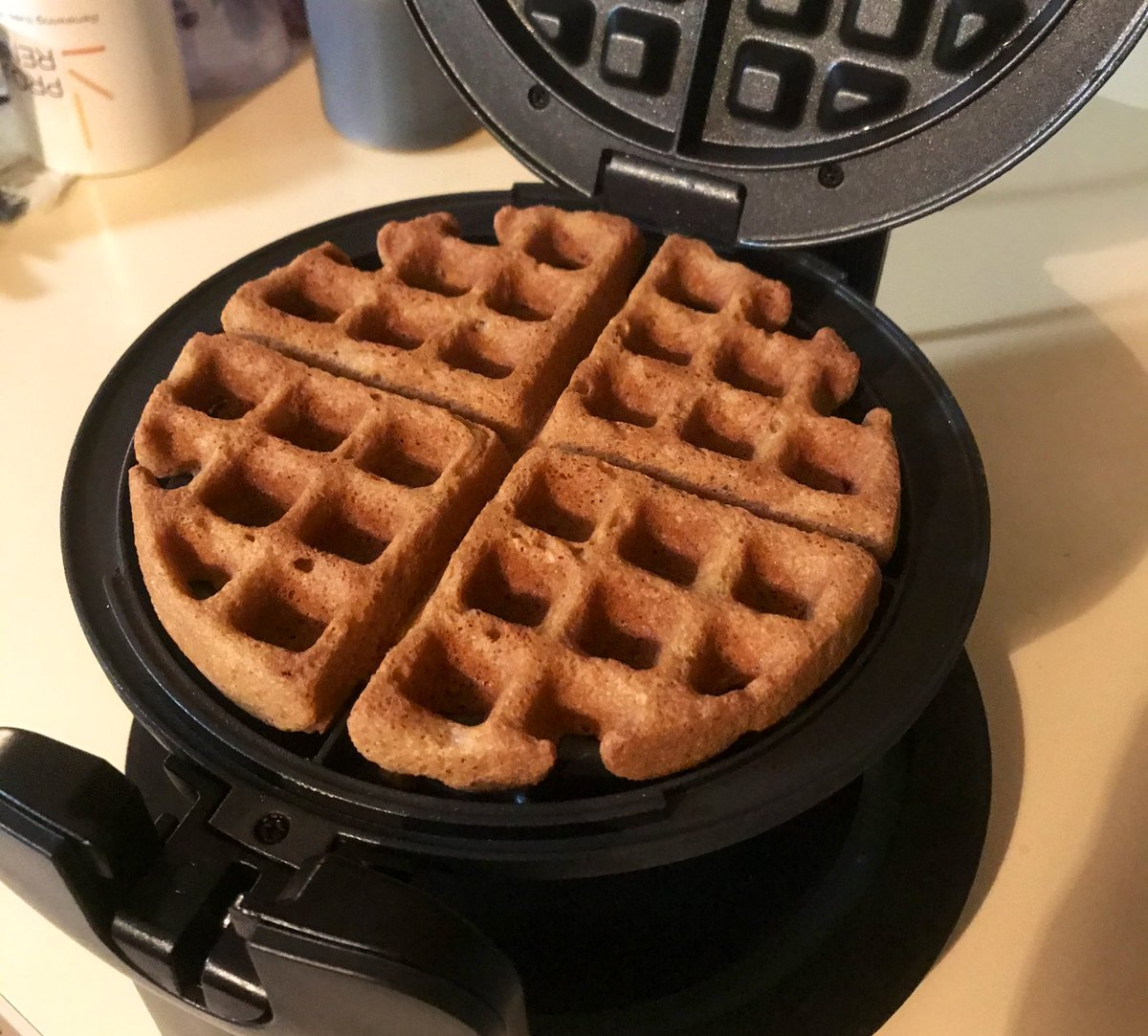 @Soxymamma Experimental waffles biscuits would have been better