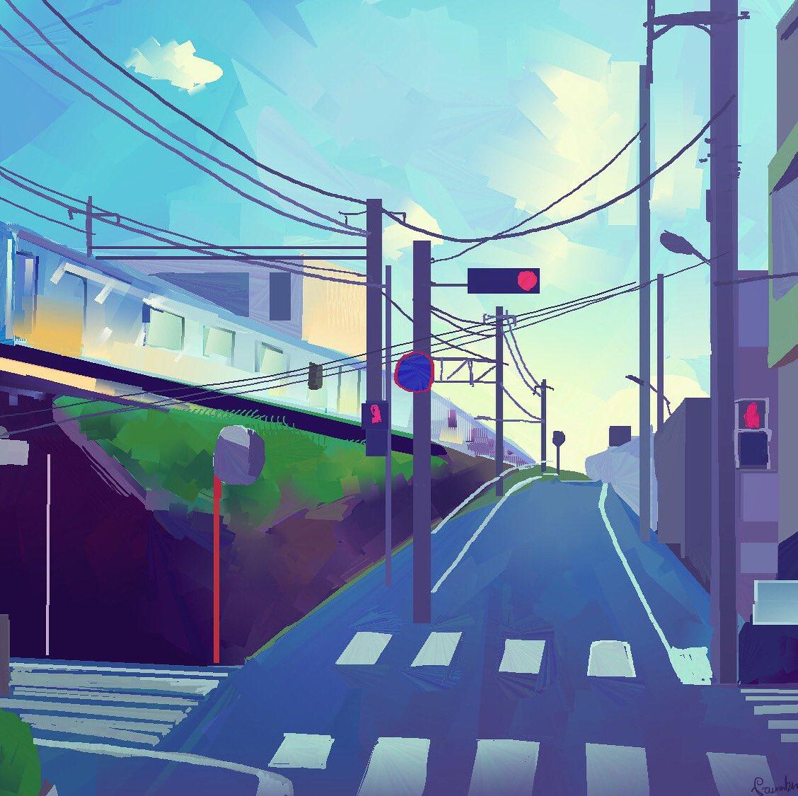 Japan street view  #HEAVYPAINT #japan #sketchpic.twitter.com/wnqarDAlF5