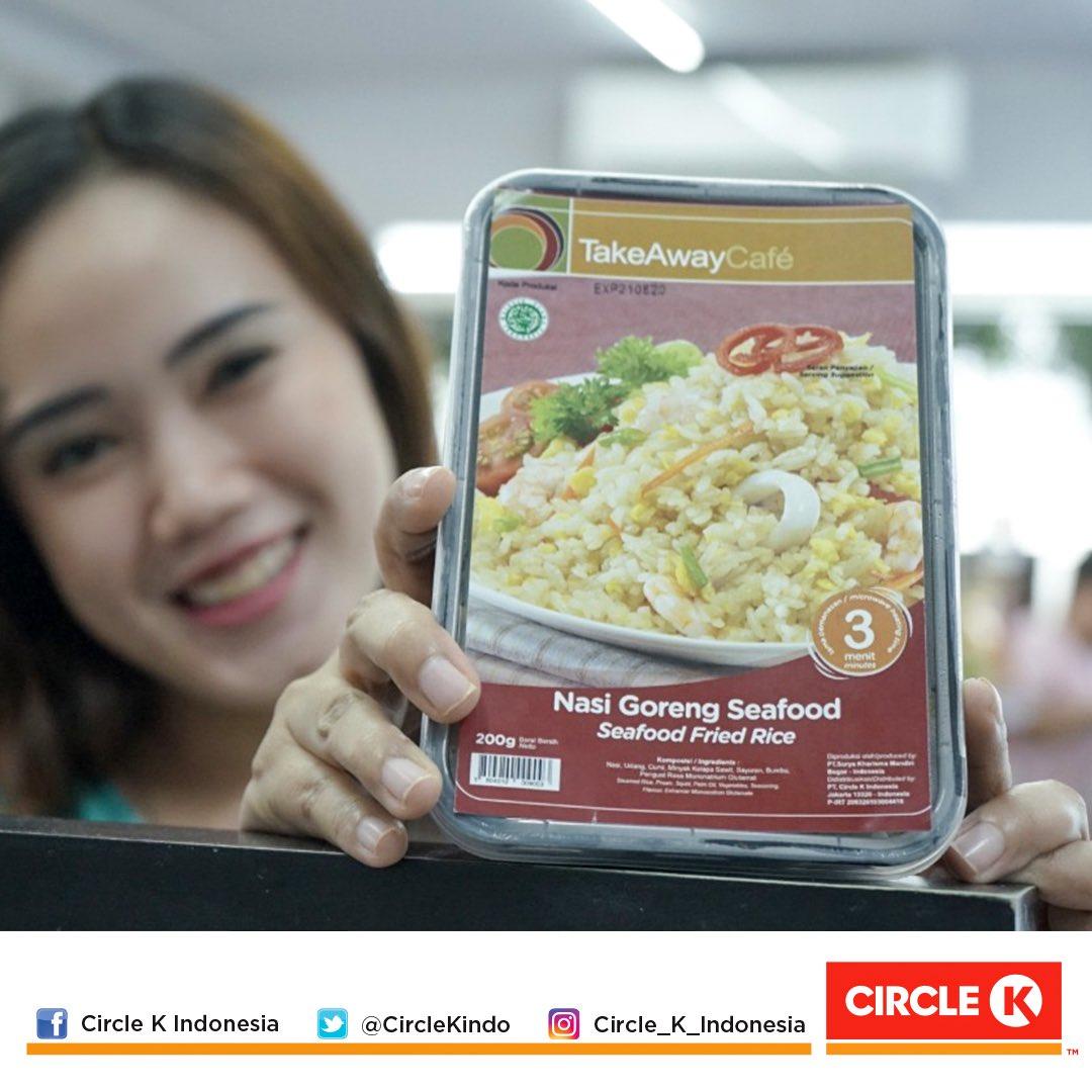 Kangen sarapan Nasi Goreng Circle K tapi belum bisa keluar rumah? Tenang aja, ada Mba/Mas GoFood yang bisa anterin ini untuk kamu pic.twitter.com/P9CchCtQQG