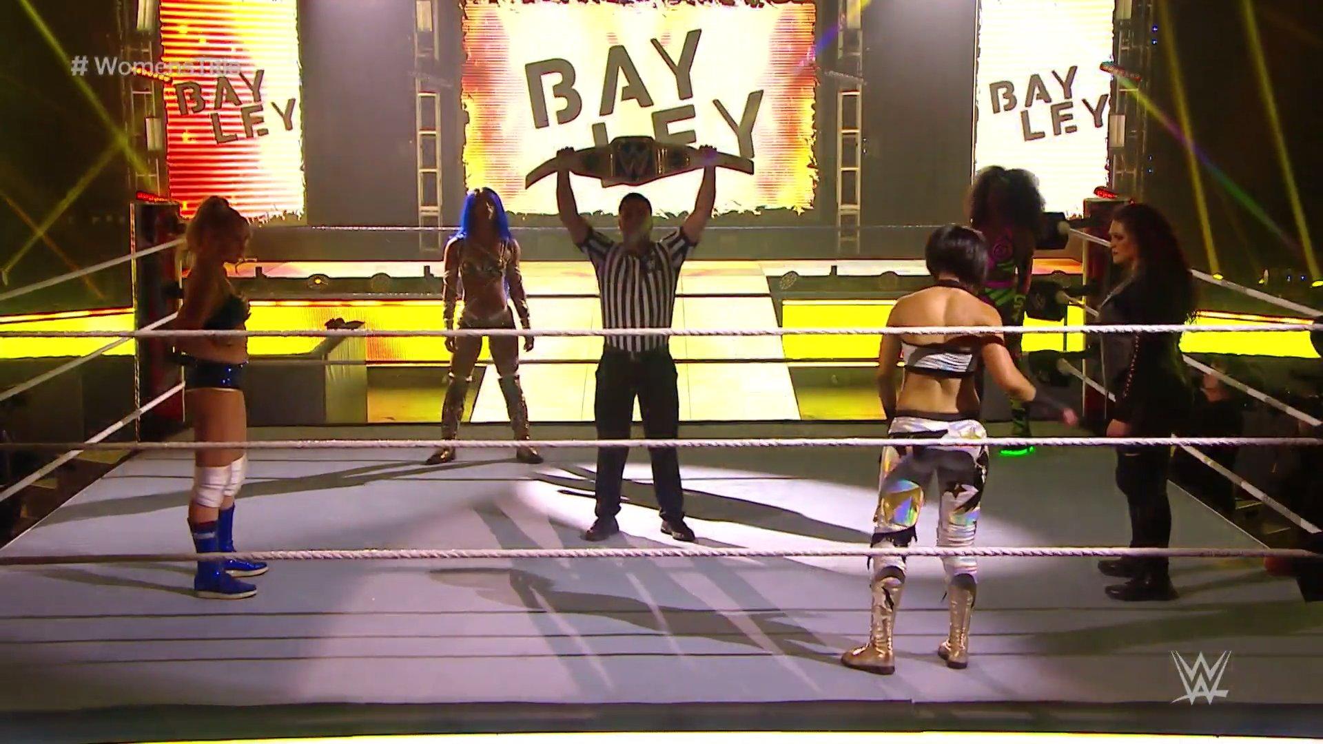 WWE Wrestlemania 36 Night II Results: April 5, 2020 3
