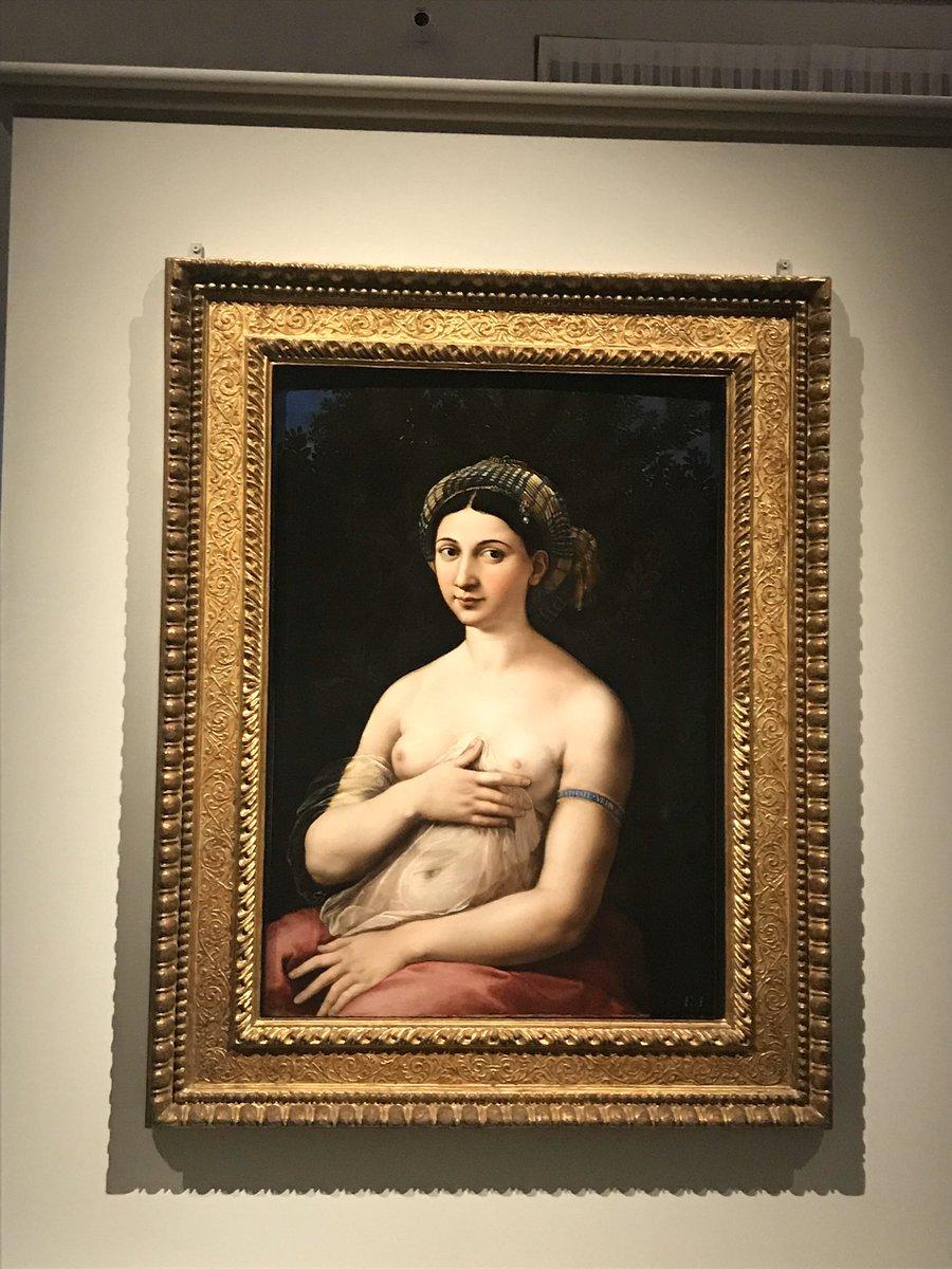 """#Raffaello500 lo festeggio ripensando alla visita a Palazzo Barberini e all'incontro con """"lei"""" #buongiorno #Raffaello #arte https://t.co/mlTHW6XWZh"""