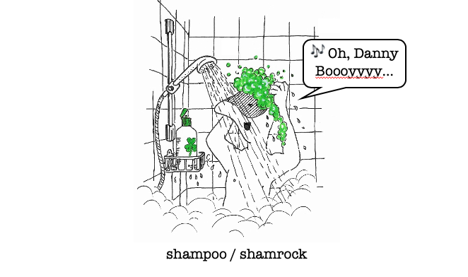 #strangeneighbours No.59 #shampoo #shamrock And with colour at no extra cost.pic.twitter.com/tYACO0Y3eo