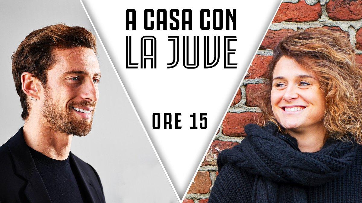 🙌  APPUNTAMENTO CON IL PRINCIPINO & CRI 🙌  📌 Oggi dalle 15:00 #ACasaConLaJuve in diretta con @ClaMarchisio8 e @cristianagire!  📹 Juventus TV ➡️ http://juve.it/EOUQ30qpwzR (30 giorni free con codice JUVE30DAYS!) 📹 http://Youtube.com/Juventus 📹 http://Facebook.com/Juventusfcita