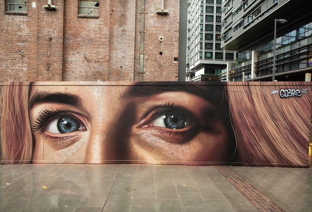 #streetart #mural #urbanart By Cobre Art in Sydney, Australia. pic.twitter.com/WJwfr2mgUL