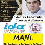 "Image for the Tweet beginning: ""Modern Endodontics - Concepts &"