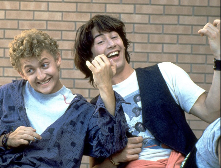 The More Things Change, The More They Stay the Same.    #BillAndTedsExcellentAdventure #BillAndTed #Movies #Movie #KeanuReeves #AlexWinterpic.twitter.com/36wA4d4Pf7