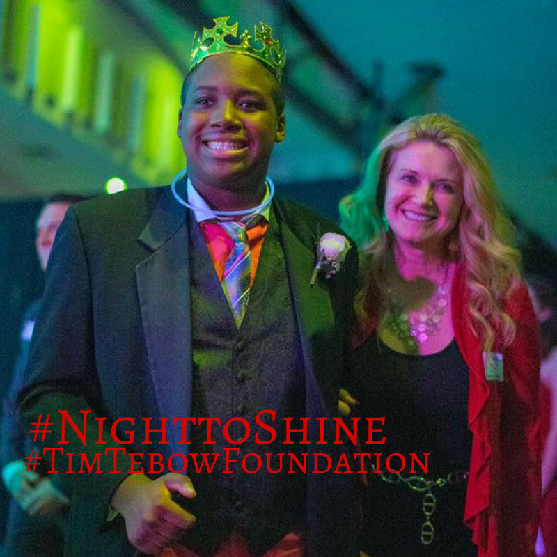 Kimberly supported #NighttoShine, sponsored by #timtebowfoundation, by escorting Prom King Matthew in February. Read the article here:  http://dld.bz/gFTKrpic.twitter.com/CYtFRfHT9I
