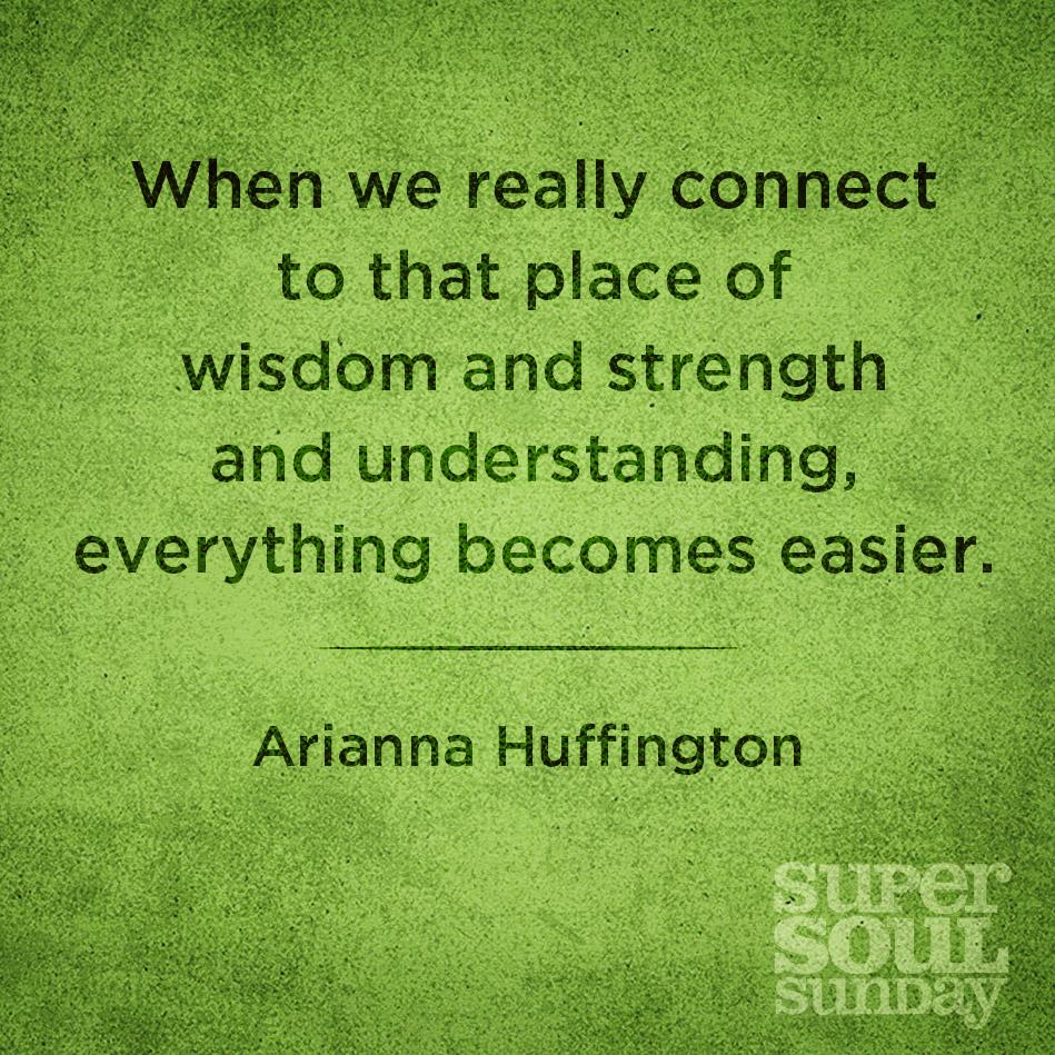 Arianna Huffington.- (Huffington Post) Leaders #quote goo.gl/vOYlR5