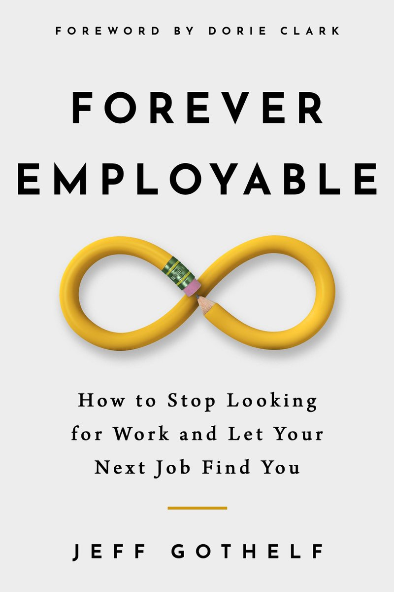 Super excited to share that my new book, Forever Employable: How to Stop Looking for Work and Let Your Next Job Find You is now available for pre-order on Kindle here: https://t.co/sWfGwdxYQg   Print and audio versions will launch on release day https://t.co/XH5APXTrtI