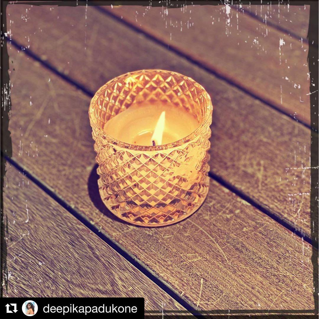 #Repost @deepikapadukone • 🕯 To Good Health, Peace of Mind & the Undying Human Spirit... #weshallovercome  #9pm9minutes