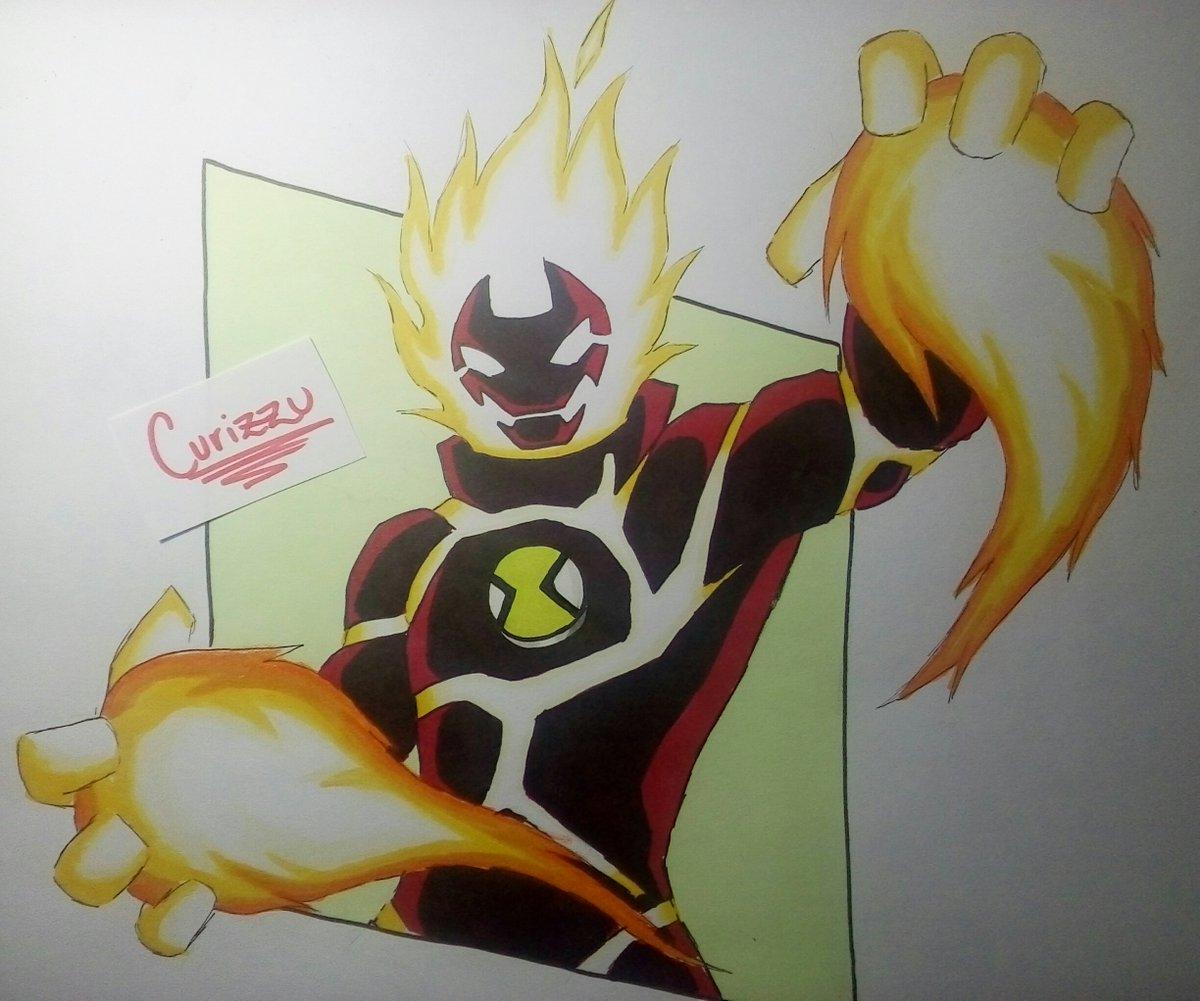 Heatblast/ Fuego    #Ben10 #Superheroes #fanart #alcoholmarkerspic.twitter.com/qfuO1MyvCK