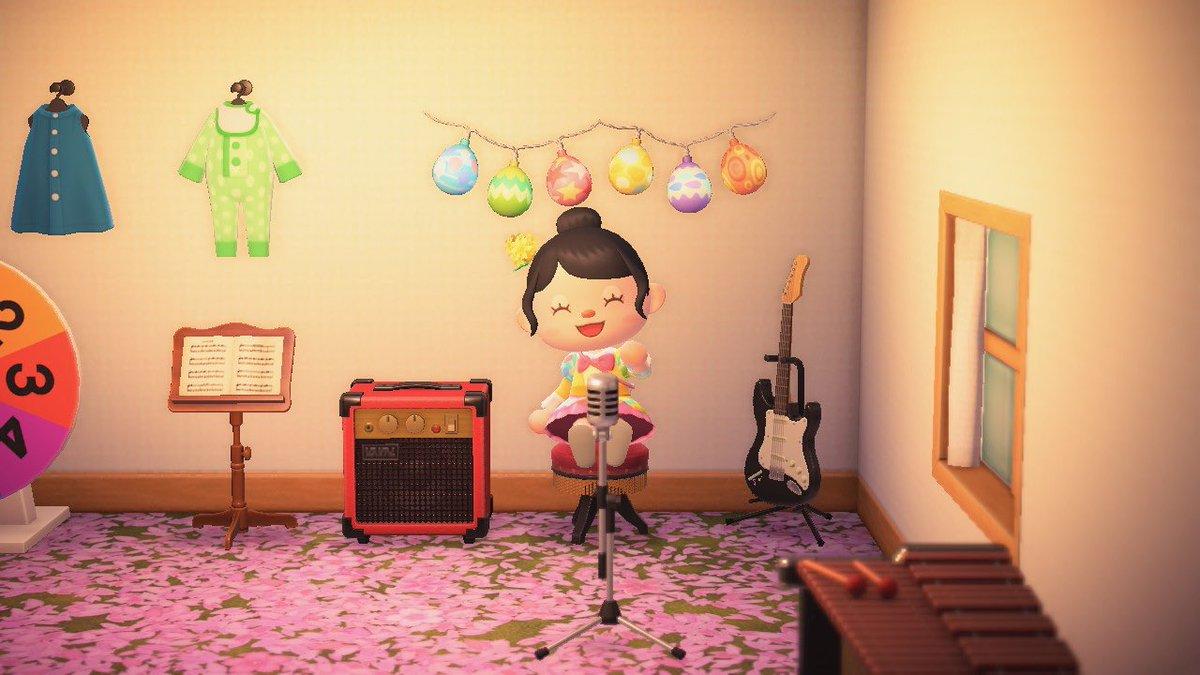 音楽教室〜♪#どうぶつの森