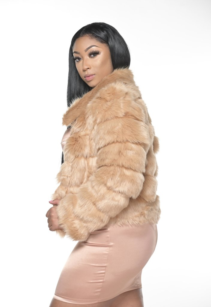 Check out this product  Tan Faux Fur Jacket   by HOT & DELICIOUS starting at $65.00.  Show now https://shortlink.store/fvhZMtHnPpic.twitter.com/NfXhJItpmv