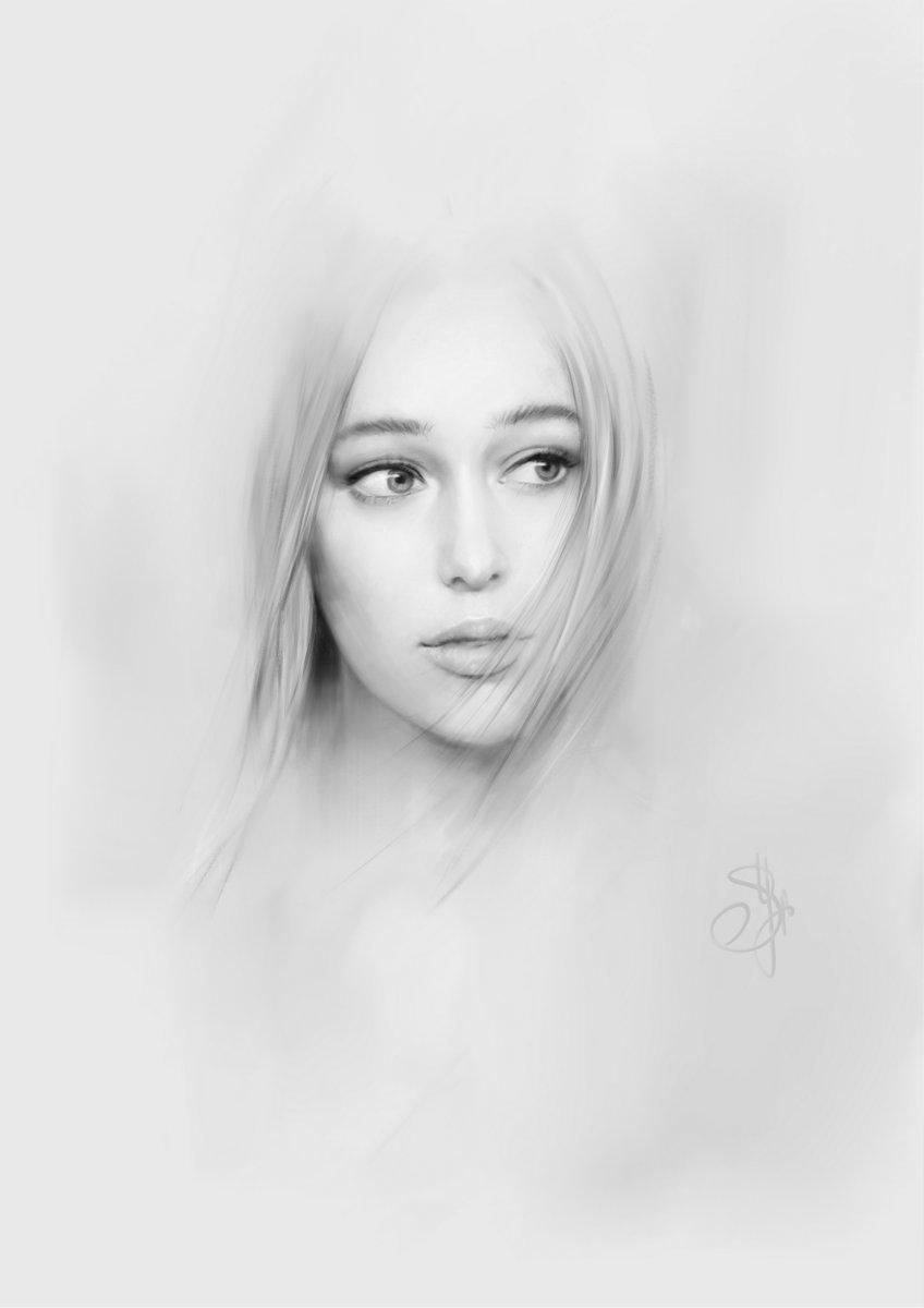 A Living Angel   This is amazing drawing  (crd @akvilon_ru) #Fanart #Beautiful #AlyciaDebnamCareypic.twitter.com/B6ieKj7py0